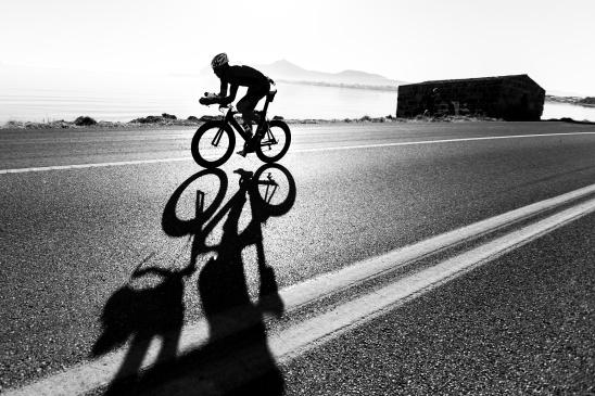 Zeitfahren / Triathlon Silhouette